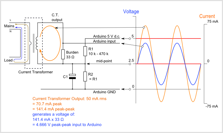 Arduino_AC_current_input_A basic current transformer wiring diagram real wiring diagram \u2022