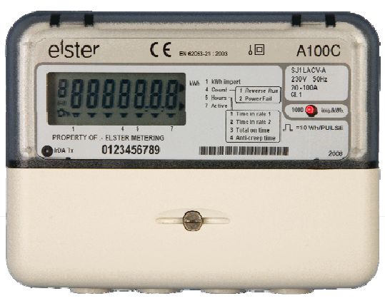 monitoring energy via utility meter pulse output