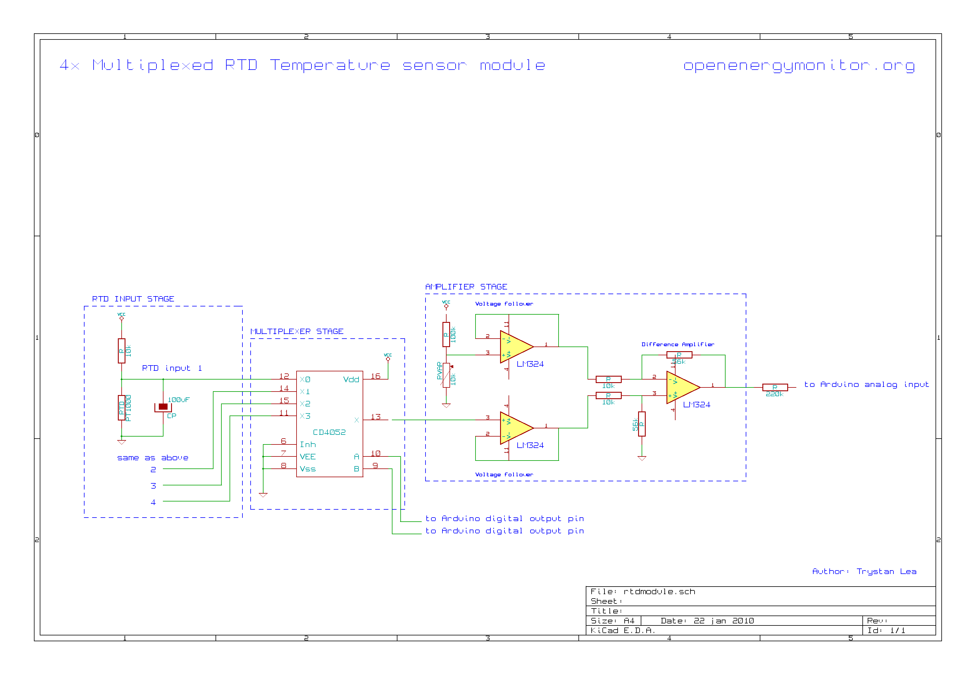 4 Wire Rtd Sensor Circuit Diagram | Wiring Liry  Wire Rtd Wiring Diagram on